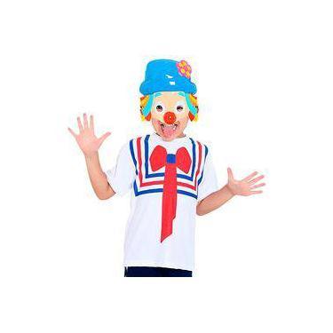 Fantasia Kit Patati Infantil Camiseta E Máscara Sulamericana 01b10048e7f