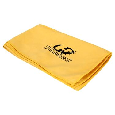 Toalha Esportiva de Microfibra Hammerhead - Amarela