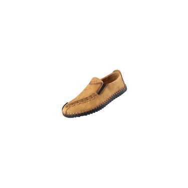 Sapatos de condução de mocassim de salto plano casual para homem primavera e outono