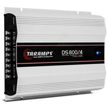 Módulo Amplificador Taramps DS 800X4 800W RMS 4 Canais 2 Ohms Classe D