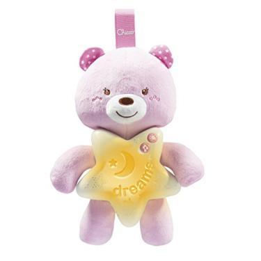 Imagem de Painel ursinho bons sonhos, chicco, rosa, Chicco, Colorido