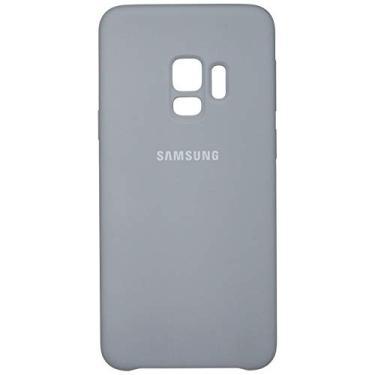 Capa Silicone Galaxy S9, Samsung, Cinza