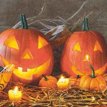 Guardanapo de Papel Decorado Halloween 33x33cm Importado