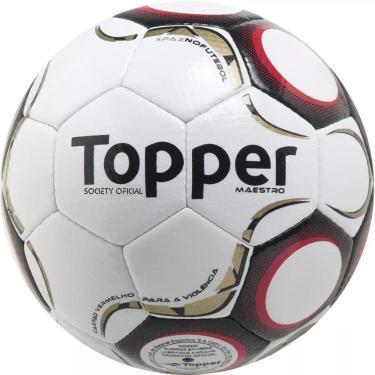 3aff1f6b8a Bola de Futebol Society Maestro TD2 - Topper