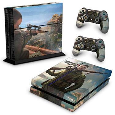 Skin Adesivo para PS4 Fat - Sniper Elite 4