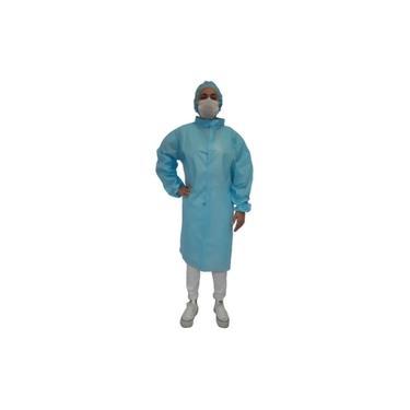 Jaleco + Touca Epi Impermeável Proteção Isolamento
