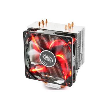 Cooler DeepCool Gammaxx 400 (AMD / Intel) - LED Vermelho - DP-MCH4-GMX400RD