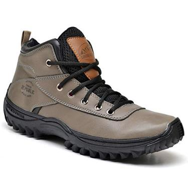 Bota Adventure Sandro Republic Himalaia (45, Marrom Claro)