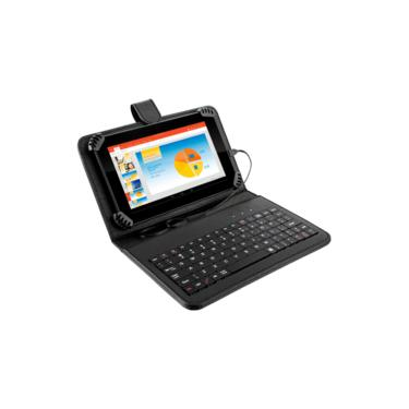 Imagem de Tablet M7s Quad Core, Android 4.4, 8gb De Memória + Teclado Nb196 Multilaser
