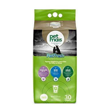 Tapete Higiênico Petmais Pet Fresh Aromatizado para Cães - 30 Unidades
