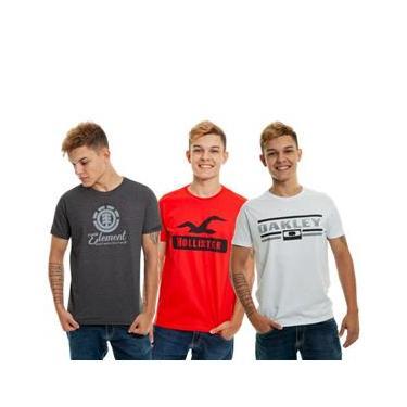 Imagem de KIt 10 Camisetas Masculinas Multimarcas