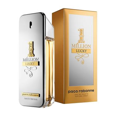 1 Million Lucky De Paco Rabanne Eau De Toilette Masculino 50 ml