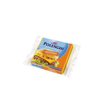Queijo Cheddar Sandwich-in Polenghi 144g(Venc:01/11)