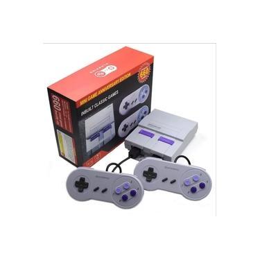 Console Super Classic Edition + 2 Controles + Jogos do Super Nintendo