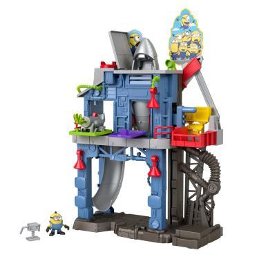 Playset e Mini Figura - Imaginext - Minions - Laboratorio do Gru - Fisher-Price