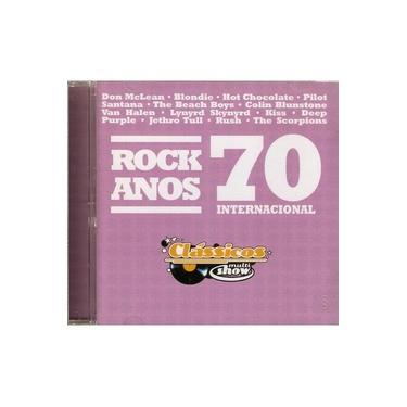 Cd Rock Anos 70 - Internacional