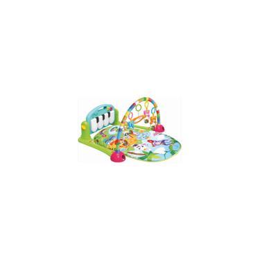 Imagem de Tapete de Atividades Ginásio com Piano Musical Verde - 2262 Dican