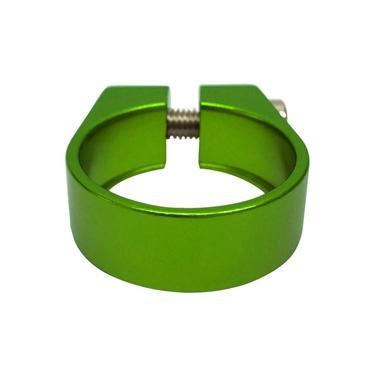 Abraçadeira de Selim Cly 31.8mm em Alumínio Verde