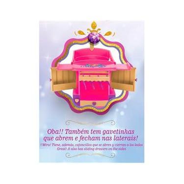 Imagem de Berço para Boneca Magic Toys Princess - Meg Rosa