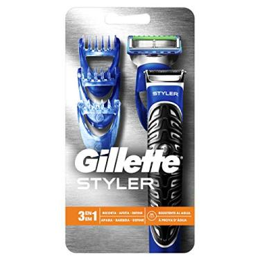 Imagem de Barbeador a Pilha Gillette Styler 3 em 1 - 1 unidade