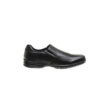 Sapato Social Gasparini Conforto Masculino Preto