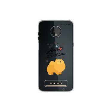 Capa para Moto Z3 Play - Chow Chow