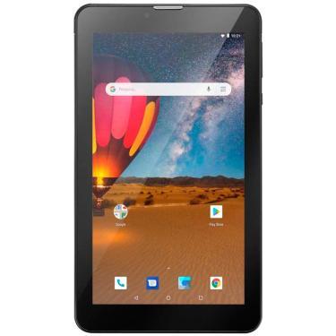 Tablet Multilaser M7 3G Plus Quad Core Tela 7', Memória 16Gb, Wi-Fi, Preto - Nb304