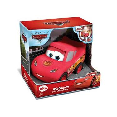 Figura de Atividades - Disney - Pixar - Carros 3 - Relâmpago McQueen - Elka