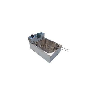 Fritadeira Elétrica Industrial 5 litros Inox