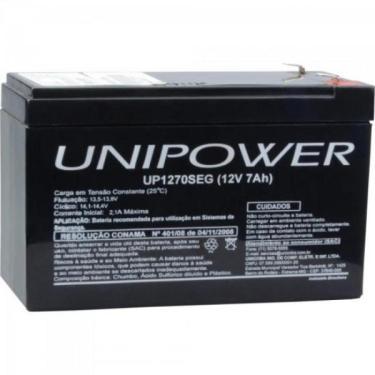 Bateria Estacionaria Selada 12V/7Ah Vrla Up1270seg Unipower