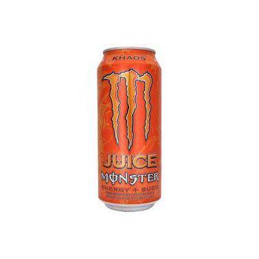 Bebida Energética Monster Khaos Juice Lata 473 Ml