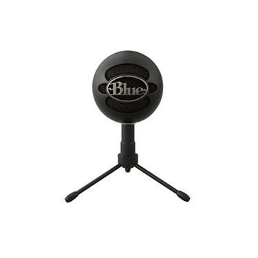 Microfone Blue Microphones Condensador USB Blue Snowball Ice Preto - 988-000067
