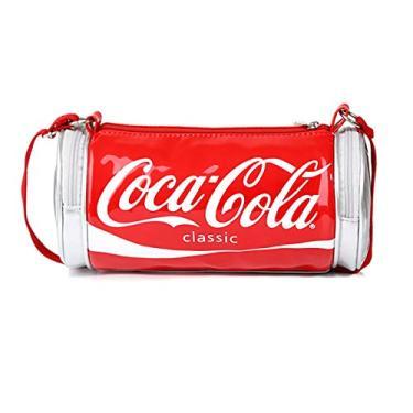 NUBEN Bolsa de ombro feminina Coca Cola Coke transversal