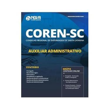 Imagem de Apostila Coren Sc - Auxiliar Administrativo - Santa Catarina