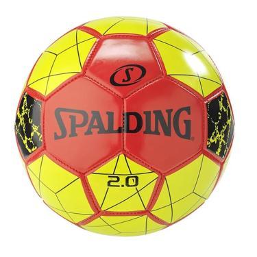 Bola de Futebol 2.0 Tam 5 Soccer Ball Spalding - Vermelho/Amarelo