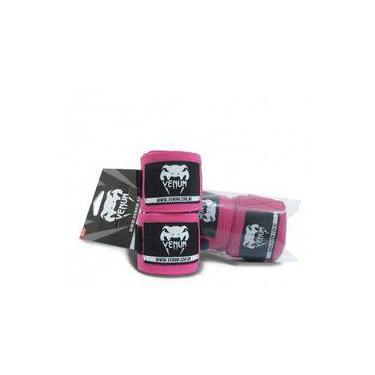 Bandagem Venum Elite 4,0 Metros Rosa