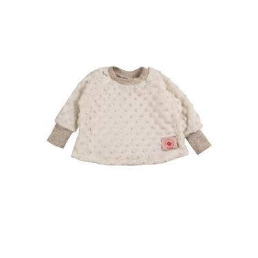 Casaco Infantil Plush Bolhas