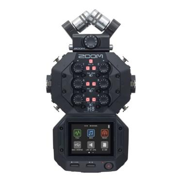 Gravador De Áudio Zoom H8 Handy Recorder
