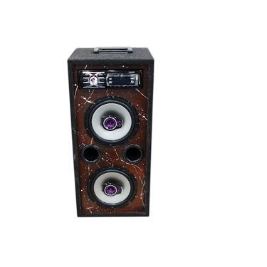 Caixa Som Bluetooth Usb Ativa Residencial Falante Pioneer 6