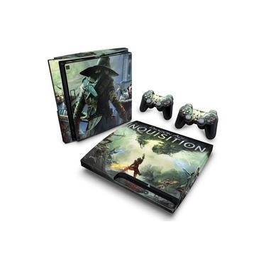 Skin Adesivo para PS3 Slim - Dragon Age: Inquisition