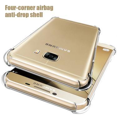 Capa de celular transparente anti-queda, capinha de celular para samsung s10 lite s20 ultra s10e s9