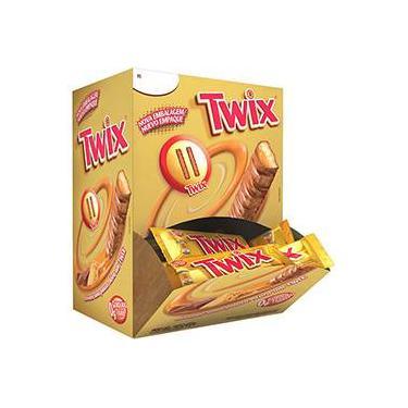 Twix® Caramelo 15g - Embalagem c/ 30 unidades - Mars