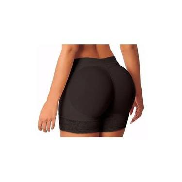 Calcinha Shorts Modeladora Enchimento Levanta Aumenta Bumbum