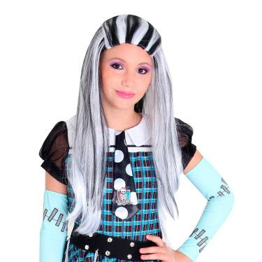 Imagem de Peruca Frankie Stein Infantil Original Monster High