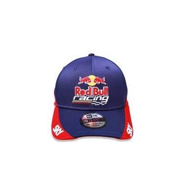 Bone 3930 Red Bull Racing Aba Curva Marinho New Era 884f33b8f07