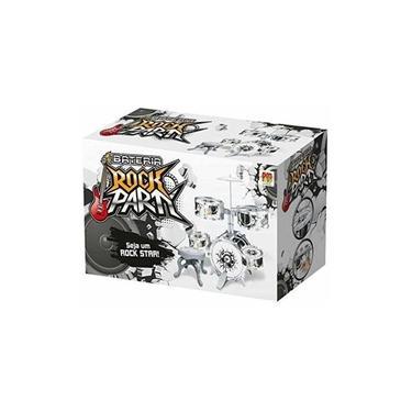 Bateria Rock Party Infantil Com Banquinho E Baquetas Dmtoys