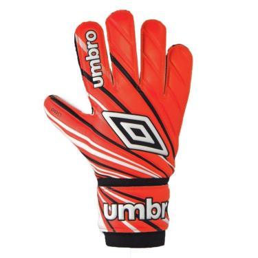 Luva Goleiro Umbro Pro Training Júnior 888262-012, Cor: Laranja/Preto, Tamanho: 7