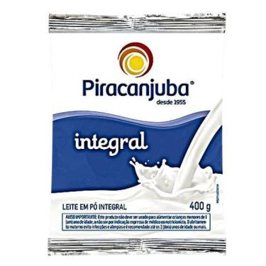 Imagem de Leite Pó Integral 400 Gr Piracanjuba