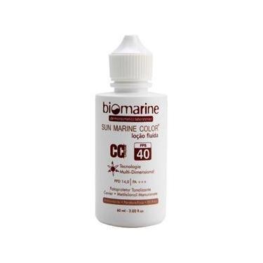 Biomarine Sun Marine Fps40 Cc Cream Loção Fluída Bege