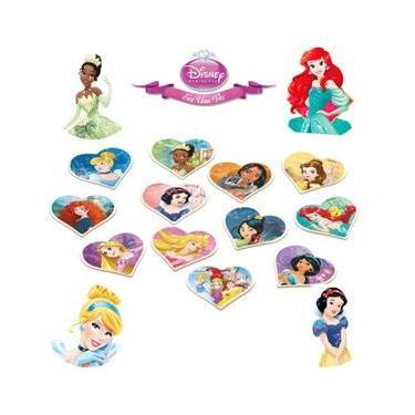 Imagem de Jogo da Memória Princesas Disney 24 peças Xalingo